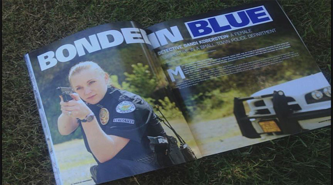 Winston cop featured in national magazine
