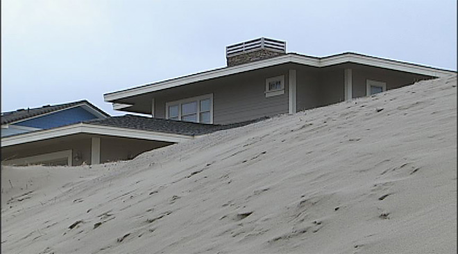 Winter storms bury Waldport homes in sand (6)