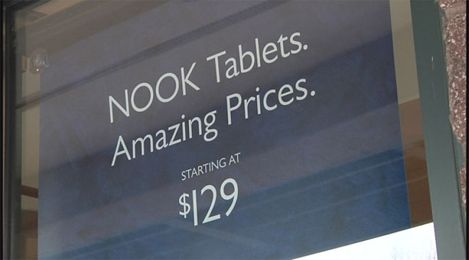 Woman says hackers ordered erotic books on her Nook account