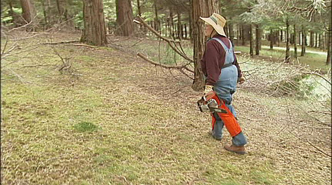 Women in the woods program through OSU Extension (2)
