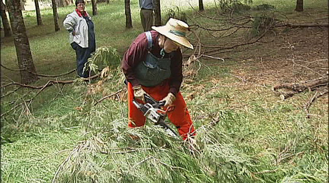 Women in the woods program through OSU Extension (4)