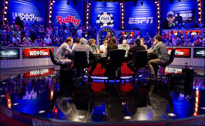 8 pros, 1 amateur compete for $8.4M poker prize
