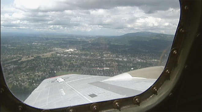 World War II B-17 visits Eugene May 17 (2)