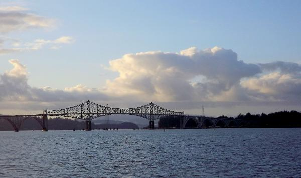 YouNews Photographer MZLAUREL submitted this beautiful photo of the Conde McCullough Bridge in North Bend