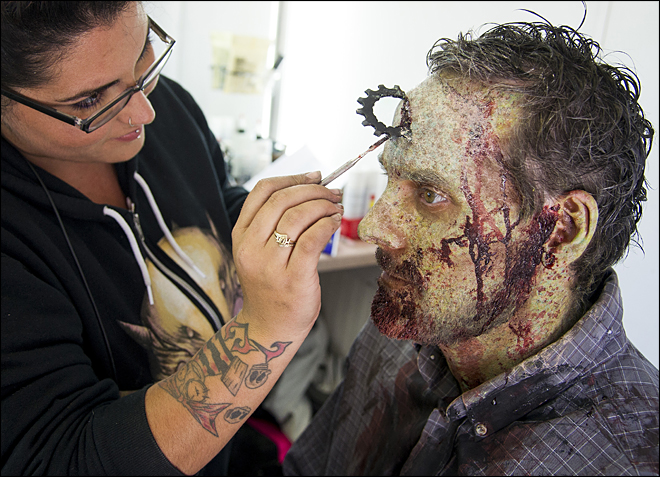 Zombie TV series films in Spokane this summer