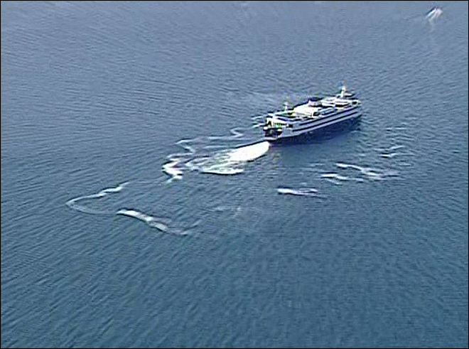 Coast Guard searching for man who reportedly jumped off ferry into Puget Sound