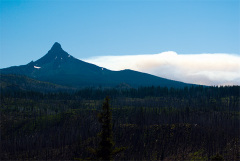 Mt. Washington and Scott Mountain fire