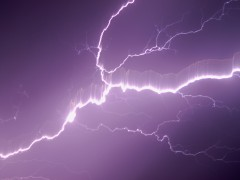 Lightning Storm hits Myrtle Creek