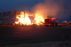HArrisburg barn destroyed by fire