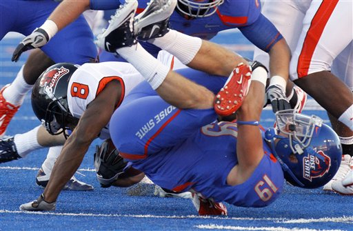 Oregon St Boise St Football