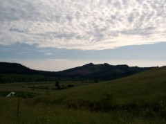 Clouds in Hale Valley in Noti