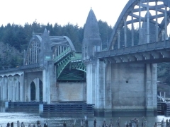 Siuslaw River Bridge-stuck!