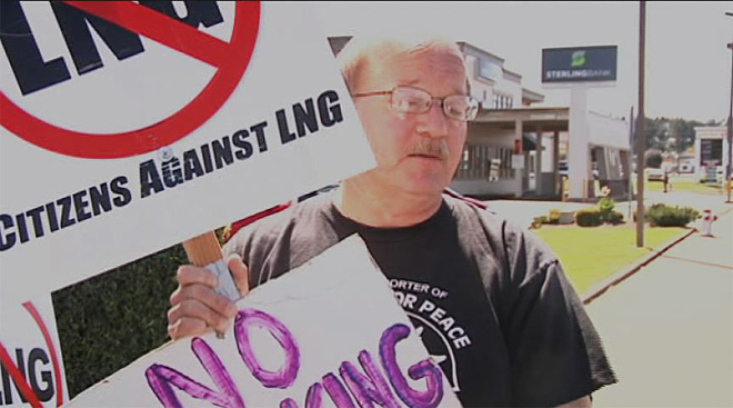 Citizens Against LNG oppose Jordan Cove project in Coos Bay