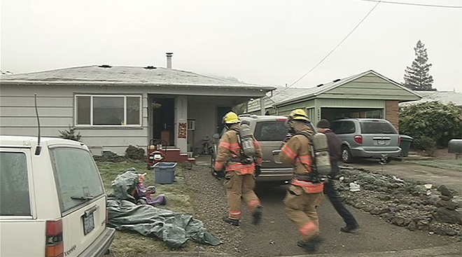 Items stored in front of heater leads to Roseburg house fire
