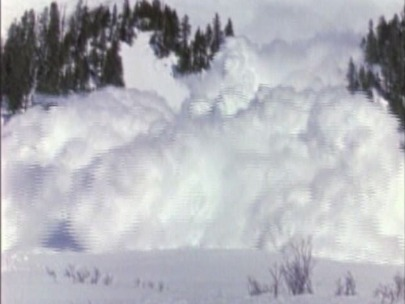 'You cannot tell when and where the avalanche might occur'