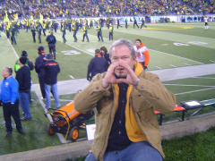 Rich Foster at Autzen