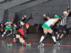 Evil Vs Good Roller Derby Bout  #4