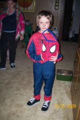 our 3 grandson on halloween