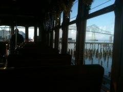 View from Astoria waterfront trolley