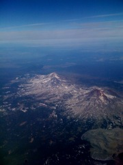 Flying over the 3 sisters