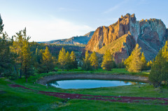 Smith Rock State Park Evening