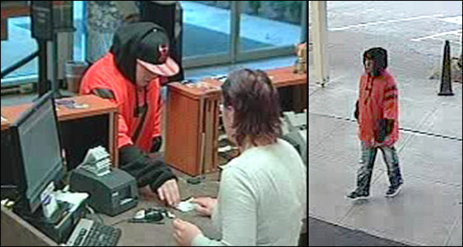 Have you seen him? Police seek Eugene bank robber