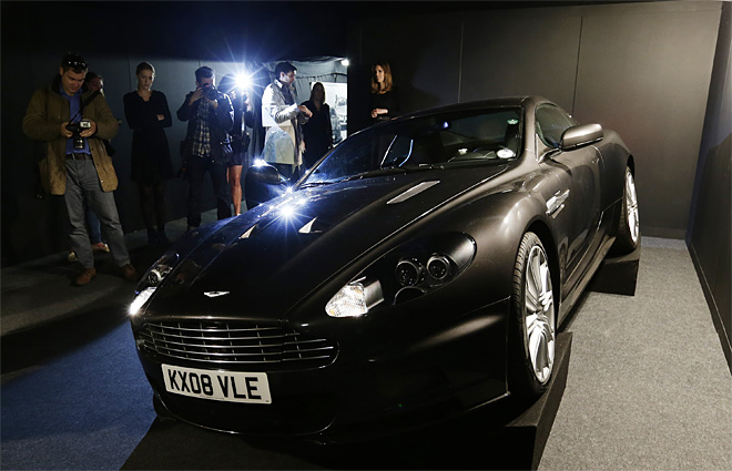 Britain James Bond Charity Auction