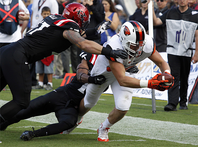 Oregon St San Diego St Football
