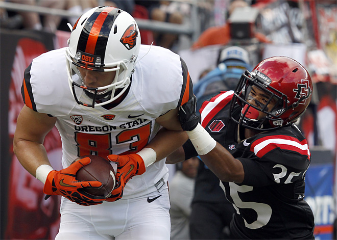 Oregon State San Diego State Football