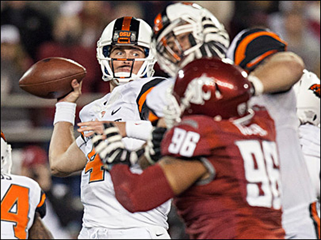Oregon St Washington St Football