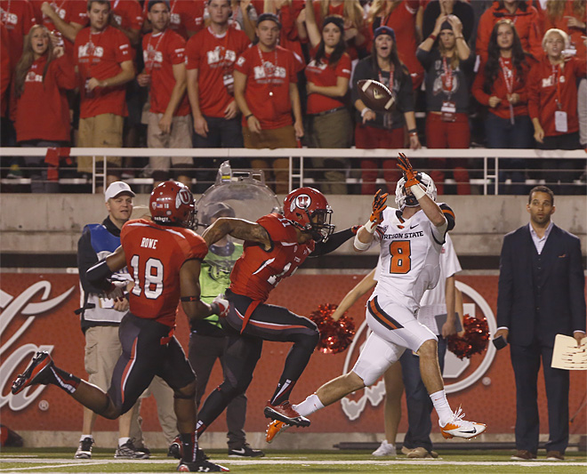 Oregon St Utah Football