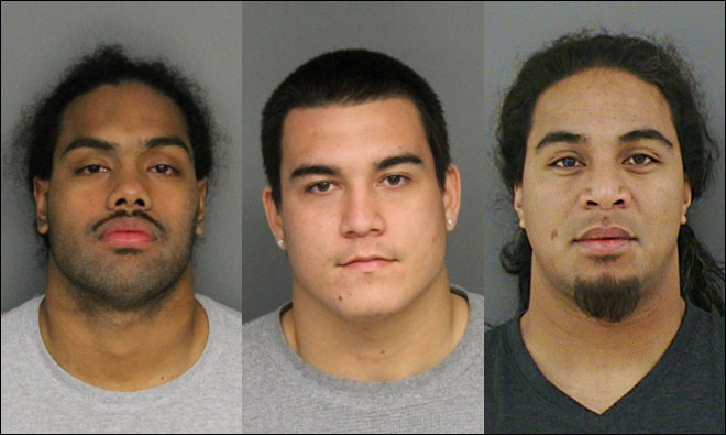 Three OSU football players arrested on assault charges