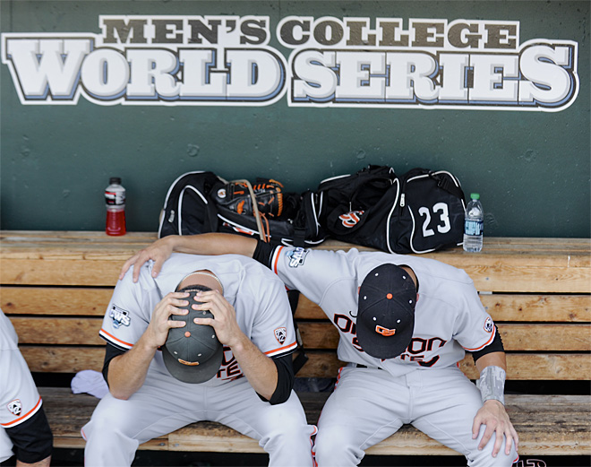 CWS Mississippi St Oregon St Baseball
