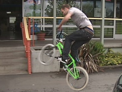 Reunited with stolen bike more than a year later