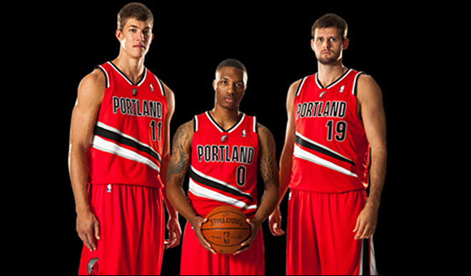 Blazers unveil new alternate uniforms for upcoming season
