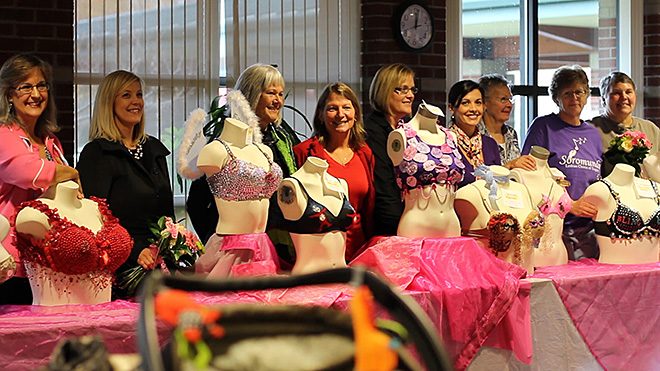 Bras for a Cure: 'There's help and there's hope and we believe'