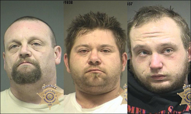 Deputies: 3 men planned to smoke meth, burglarize home