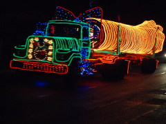 Truckers Light Parade