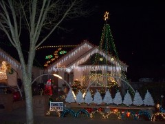 Visit The Eugene Christmas Light Show