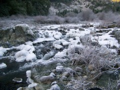 Beautiful Frozen River