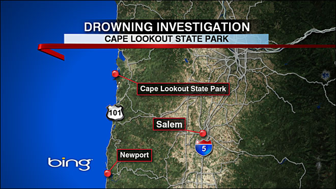 Man, 20, drowns on Oregon Coast
