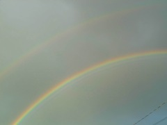 Supernumerary and Double Rainbow!