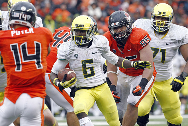 BCS Standings: Ducks stay at No. 5,  Beavers No. 15