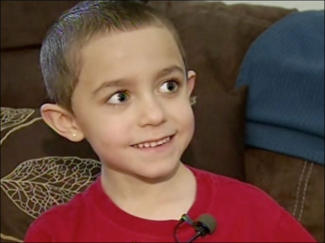 Boy wishes for 100 birthday cards