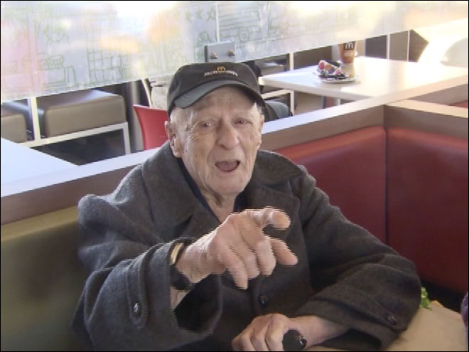 100-year-old McDonalds worker