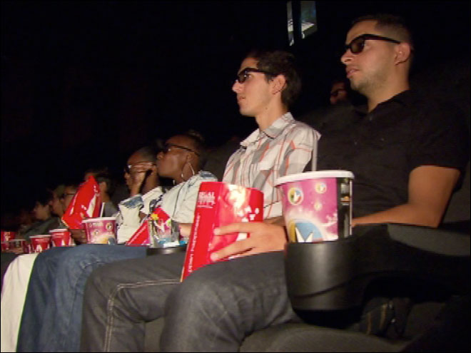4-D theater opens in U.S.