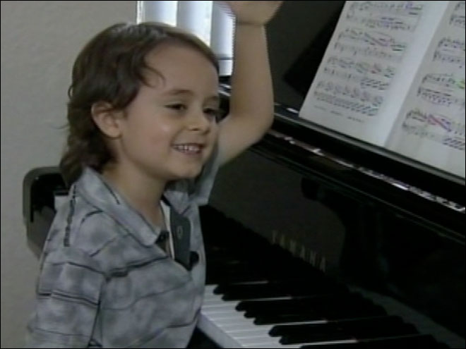 5-year-old piano prodigy