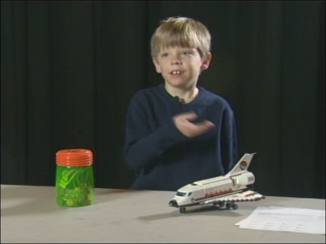 6-year-old tries to save NASA
