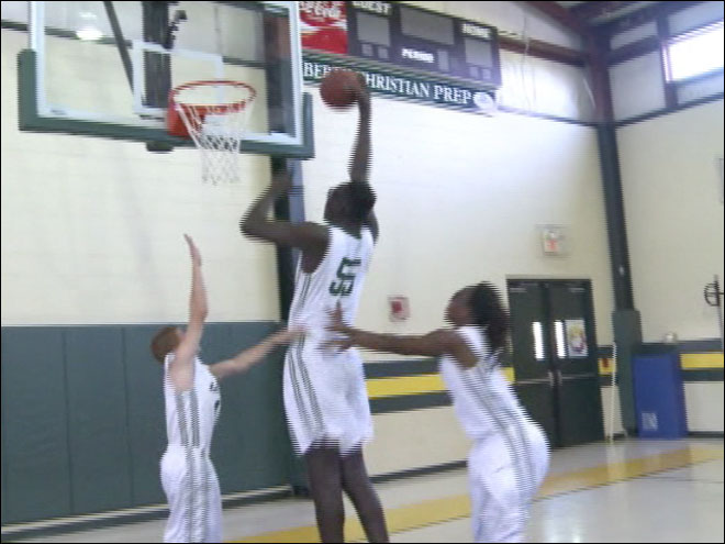 High school junior is 7-foot 5 and growing
