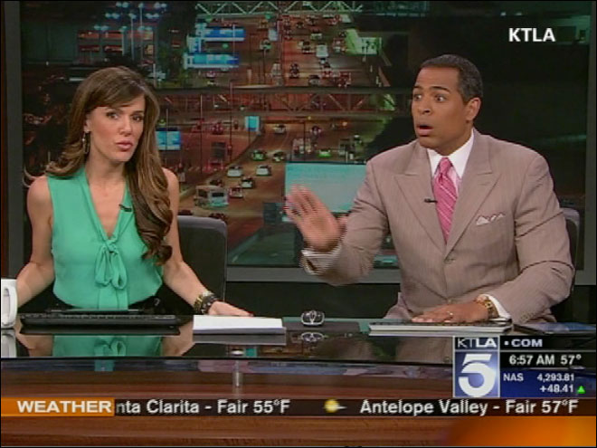 Earthquake shakes up anchors